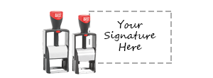 Heavy Duty Signature Stamps