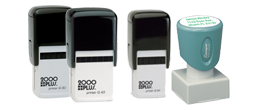 Square Logo Stamps